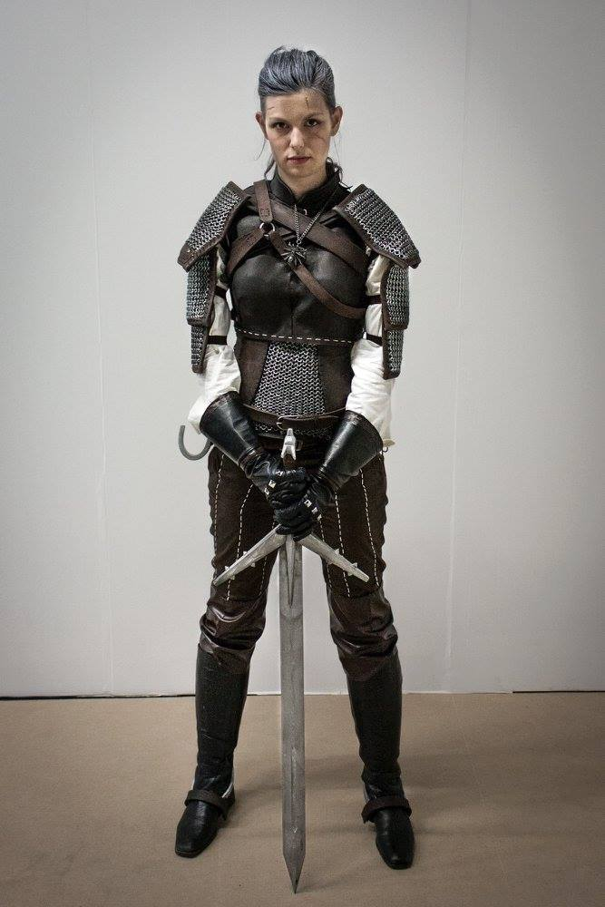 Geralt (genderbend) / Witcher 3